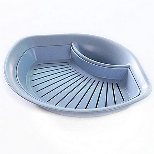 Straw Dumpling Vinegar Dish Double Dribbling Plate Fruit Plates For Home