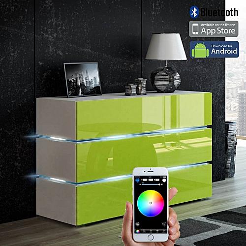 Smart Control LED Credenza/Sideboard