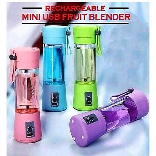 Portable Rechargeable USB Fruit Juicer/Blender