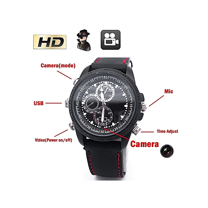 HD 1280x960 Hidden Camera Wrist 8GB DV Watch Video Hidden Camera DVR Waterproof Camcorder