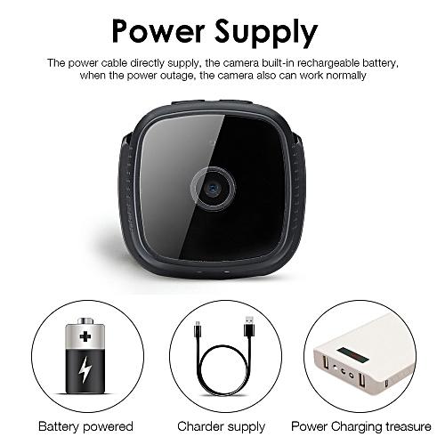Mini C9 WIFI Wireless HD Camera Security Camcorder Night Vision 360? Rotation