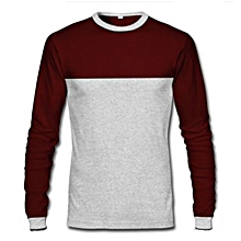 bfbe30736e84 Long Sleeve T-Shirt - Wine  amp  ...