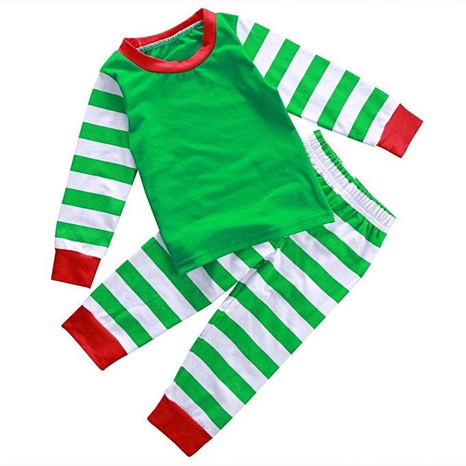 694805800 Fashion Xmas Baby Boy Girl Kids Nightwear Pajamas Pjs Sleepwear ...