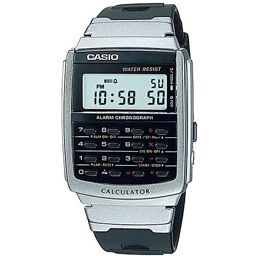Casio CA56-1 Men's Classic Digital Quartz Calculator Small Size Watch