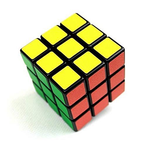 Tanson Colorful Plastic Magic Cube Professional Classic Puzzle Magic Cube Educational Tool