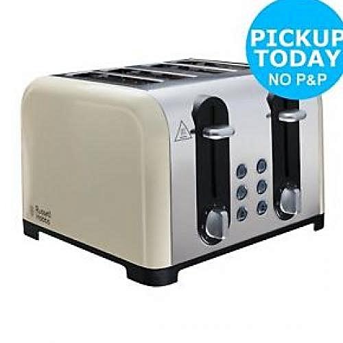 4 Slice Pop Up Toaster