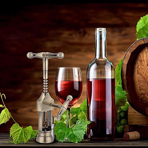 Portable Retro Red Wine Bottle Opener Corkscrew Cork Puller Bar Tools