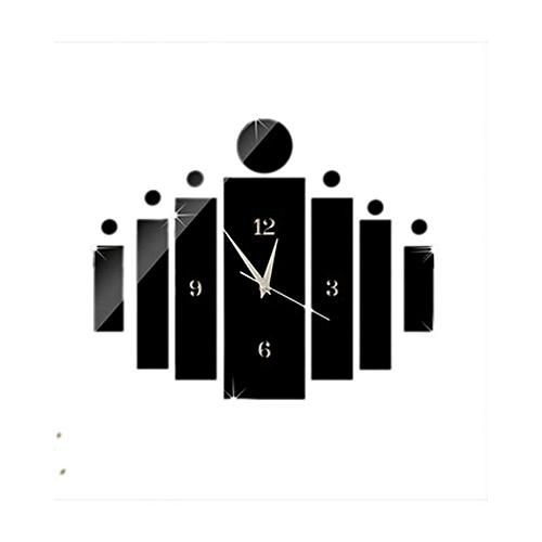 Trisha007 Wall Clock - Black