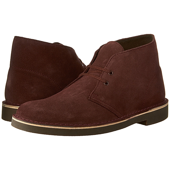 23970696ea5 Clarks Men's Bushacre 2 Chukka Boot-Bordeaux Suede | Jumia NG