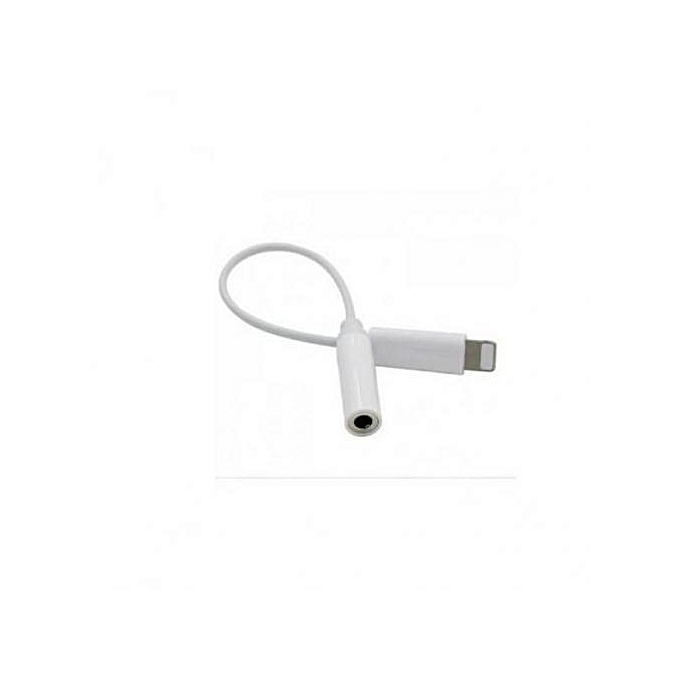 wholesale dealer 65c48 495e0 IPhone 7 And 7 PLUS Audio Jack Converter Aux Cable Headphone Adapter - White