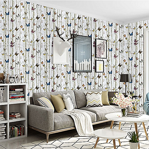 0.45m*1m PVC Adhesive Wallpaper The Butterfly Wall Stickers