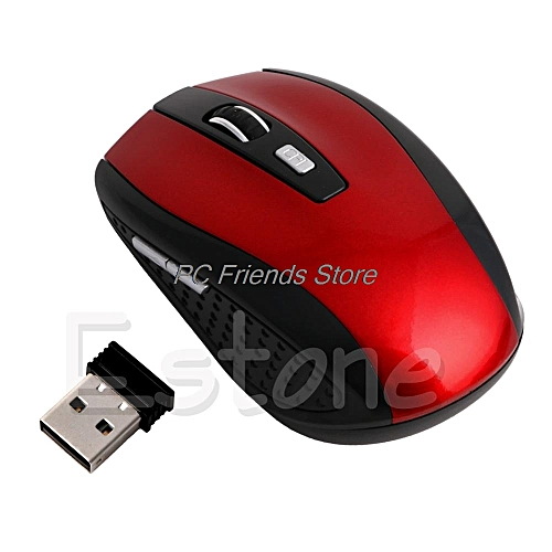 Wireless Mouse Portable 2.4Ghz Optical Gaming Mouse Gamer Mice For PC Laptop Computer Pro Gamer Minimum Price-PC Friend TAKAL