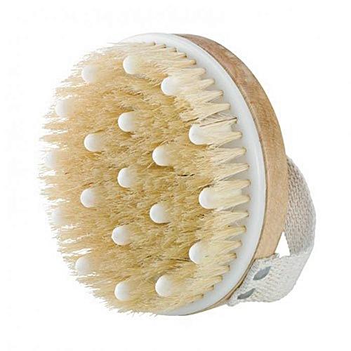 Honana BX Circular Massage Body Cleaning Brushes Natural Bristle Back Spa Brush Scrubber Wooden