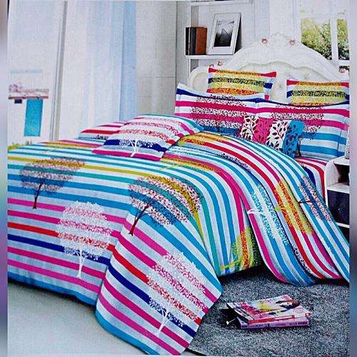 Supreme American Blue Duvet And Bedspread Set