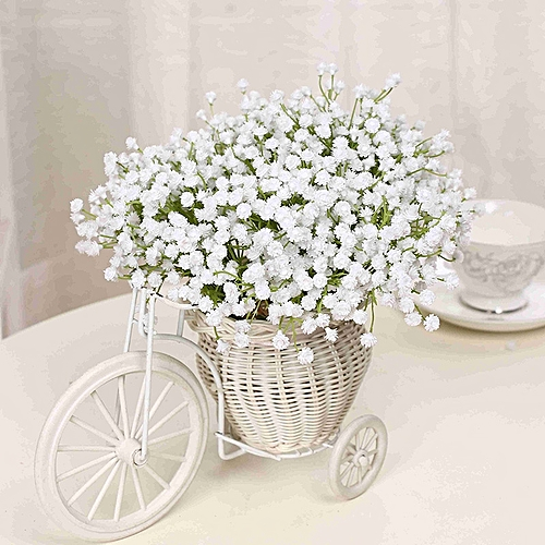 Single Branch Baby's Breath Artificial Flowers Fake Flower For Home Wedding Decoration Shooting Props