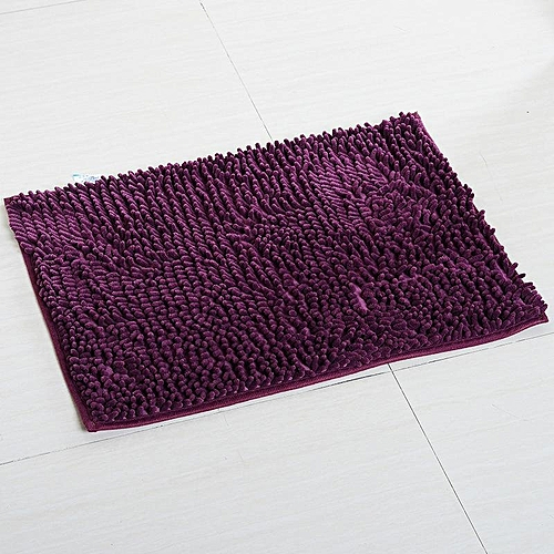 50X80CM Chenille Carpet For Living Room Decorative Mats Rugs Bathroom Bath Mat Water Absorbing Rug Kitchen Carpets Room Doormat