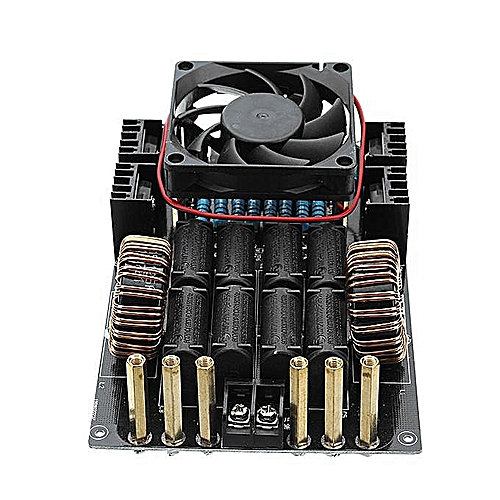 DC 12-40V 50A 1000W 1KW ZVS Induction Heating Board Module With Tesla Coil And Fan