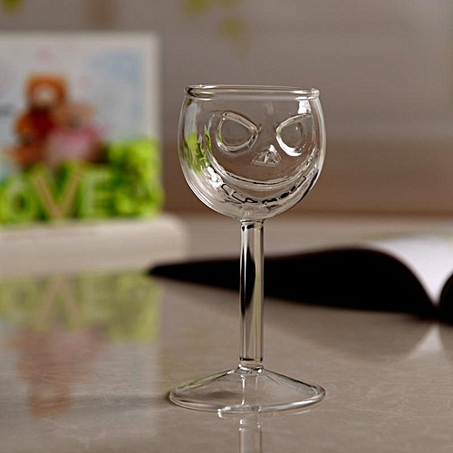 Crystal Skull Wine Glass Cup Halloween Dining Party Bar KTV Kitchen Drink Ghost