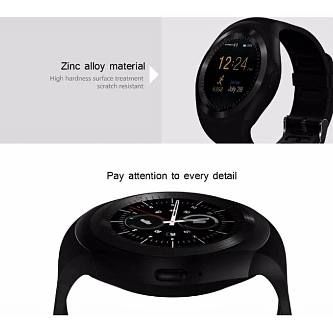 ... New StuffSmart Watchs Y1 Round Display Support Nano SIM &TF Card With Whatsapp And Facebook Men ...