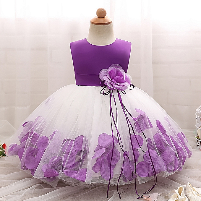 86fab5f4d Fashion New Lovely Baby Girls Dress Fluffy Child Skirt Sleeveless ...