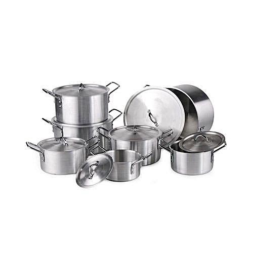 7pcs Aluminium Pot Set