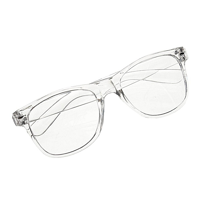 Fashion Eyeglass Frame Vintage Transparent Glasses Retro UV 400 Plain Lens  Optic 89562f2072