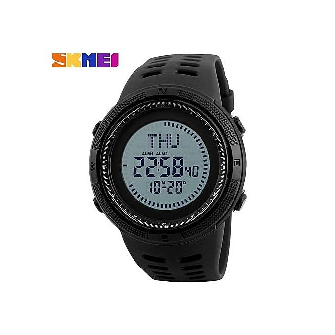 Water Proof Digital Outdoor Men's Sports Watch Countdown Wrist Watches Male Clock Men's Compass Sport Watch ...