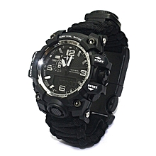 Survival Watch Outdoor Camping Multi-functional Watch Comp for sale  Nigeria