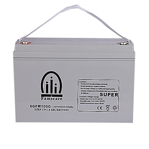 Famicare 100Ah Deep Cycle Gel Battery