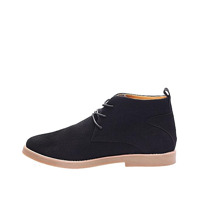 b795e8497b1c Venice Men's England Ankle Shoe Black | Jumia NG