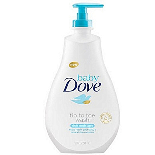 Baby Dove Tip To Toe Wash- Rich Moisture