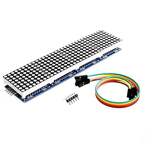 MAX7219 Dot Matrix Module Microcontroller MCU Module Four In One Display