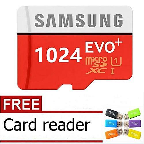 Samsung Micro SD Card 1024GB/1TB 100MB/s Class10 Memory Card