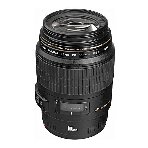 EF 100mm F/2.8 Macro USM DSLR Camera Lens