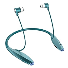 H7 Sports Bluetooth Neckband Headset With Magnetic Earbuds In-Ear Noise Cancelling Function Mic