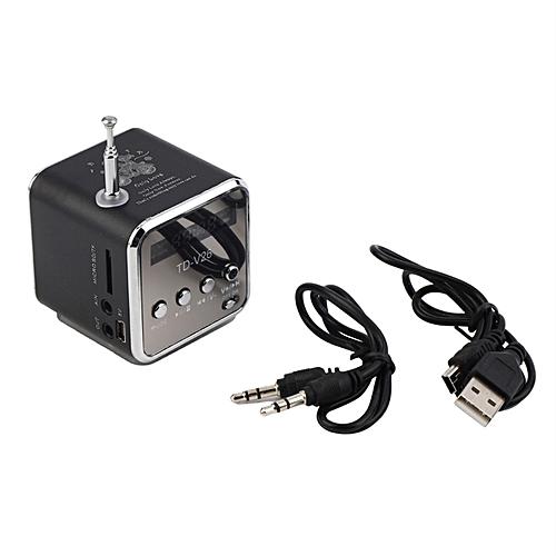 Portable TF USB Mini Stereo Speaker Music Player FM Radio PC MP3 /4