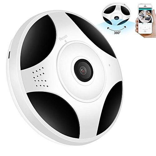 Surveillance Camera Robot 360 HD Mini VR Camera WIFI Panoramic Fisheye Home Security 1080P IP Video Night Vision Two-way Audio