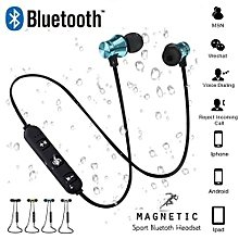 Magnetic Attraction Wireless Headphone Bluetooth Earphone Headset Build-in Mic For All Phone