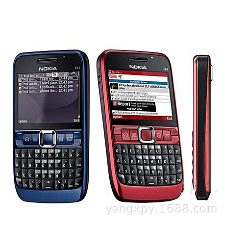 E63 2.3-inch Support WiFi / Bluetooth / Camera / Full Keyboard Input / Function 3G Phone