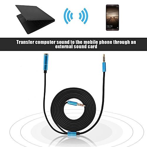 Audio Convertor Cable Mobile Phone Live APP External Sound Card Earphone Cable