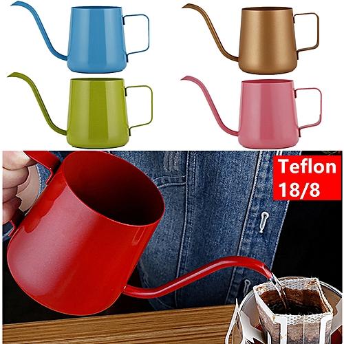 Teflon 18/8 PourOver Coffee Kettle Drip Coffee Maker Jug Pot