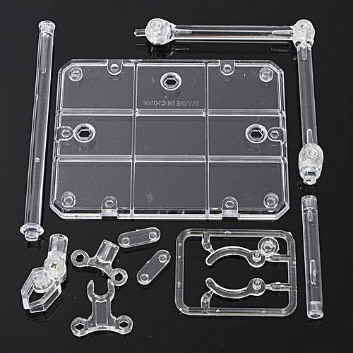 4PCS Action Base Suitable Clear Display Stand For 1/144 HG/RG Gundam/Figure Model Toy