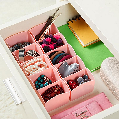 DIHE Candy Color Separated Underwear Boxes In Drawer 1PC