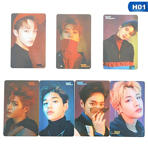 Eleganya Kpop NCT Fashion Photo Cards Collective Self-made Small Cards