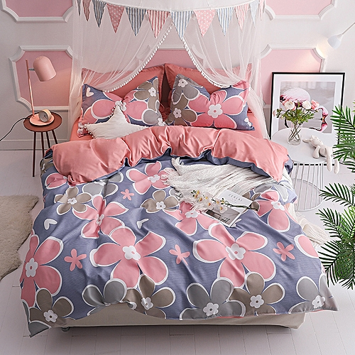 Romance Duvet Cover Set 4 Pieces Comforter Set