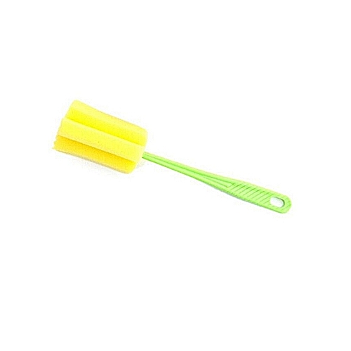Easy Cup Bottle Sponge Cleaning Brush Foam (Random Colours) X4