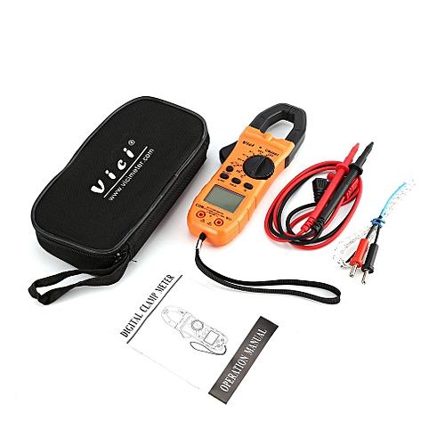 Vici CM-2007 Handheld Digital Clamp Meter Multimeter AC/DC Volt Amp NCV Tester