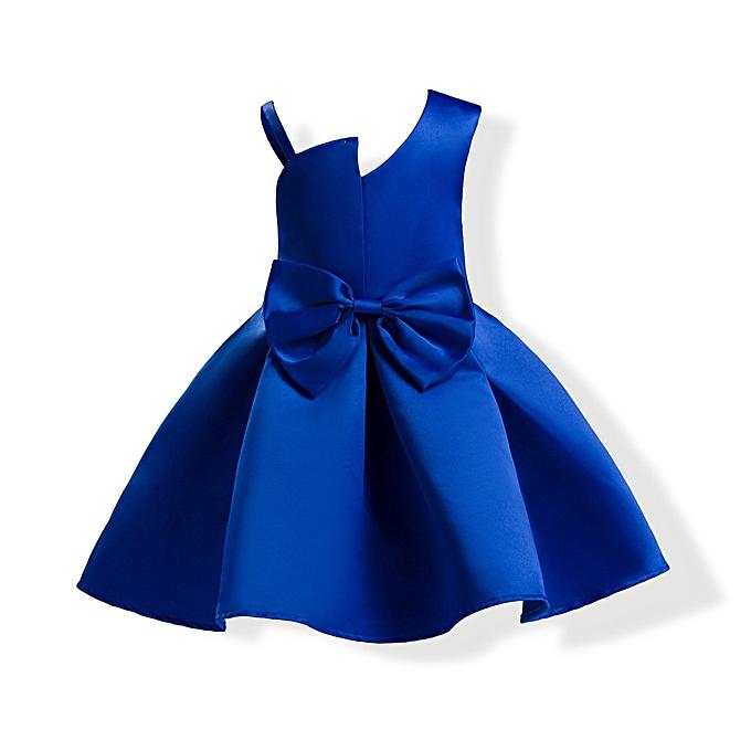 Fashion Toddler Baby Girls Sequins Bowknot Floral Princess Dresses ... 7fa89237d8af