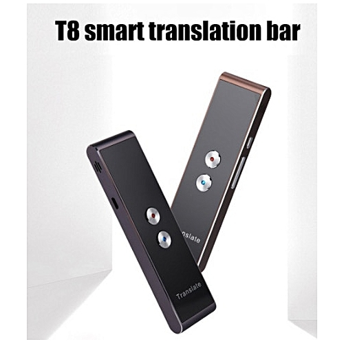 Portable Smart Voice Speech Translator For Learning Travel Meeting Voice Instant Language Real Time Multi-Language QLANG