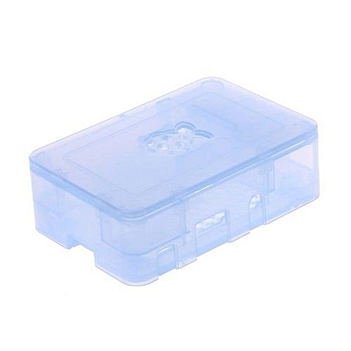 ABS Updated Case Premium Raspberry Pi Case For Raspberry Pi 3 2 And B+ Light Blue